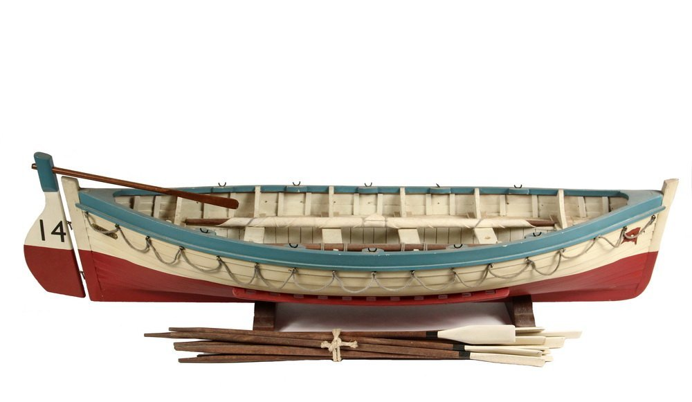 BOAT MODEL - 'Titanic' Lifeboat Sloop, stocked with a