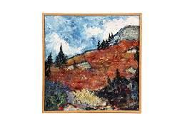 "J.O. PAYNE (Contemporary Maine) - ""Blueberry Fields,"
