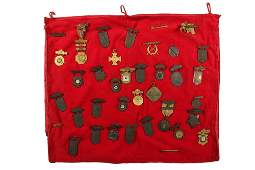 COLLECTION OF (34) SHOOTING MEDALS - All American,