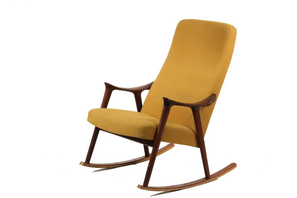 danish modern rocking chair ingmar relling