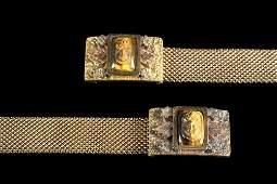 PR BRACELETS - Pair of Victorian 14K Yellow Gold