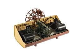 ENGINEER'S SHIP ENGINE MODEL - Oscillating Steam Engine