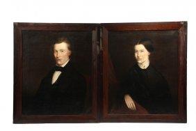 Aaron Eshelman (ky/pa, 1826 - ?) - A Pair Of Ancestral