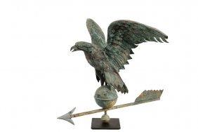19th C Weathervane - American Eagle Full Body