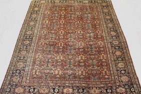 "Carpet - 8'7"" X 10'1"" - Early 20th C. Northwest Persian"