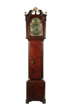 Scottish Tall Case Clock - James Low Of Inverness,