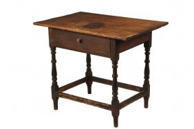 Tavern Table -18th / 19th C Country Tavern Table, With