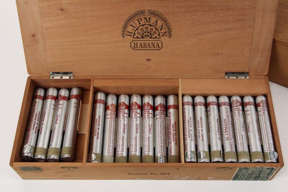 BOX OF PRE-EMBARGO CUBAN CIGARS - H. Upmann Dunhill - 2