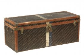 Rare Goyard Ladies Shoe Trunk - Circa 1910 Travel Trunk