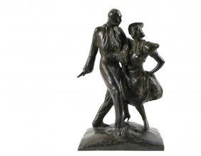 Stella Elkins Tyler (pa/ny, 1884-1963) - Dancing The