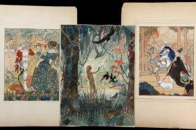 Helen M. Brown (early 20th C American Illustrator) -