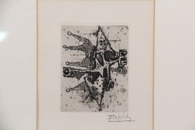 Johnny Friedlaender (france/poland, 1912-1992) -