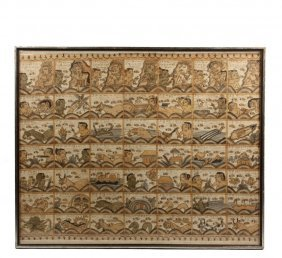 Indian Phad Painting - Rajasthan, Early 20th C.