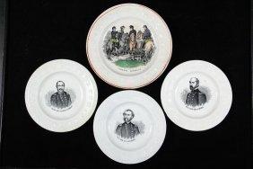 (4) Civil War Transfer Plates - Children's Abc Soft