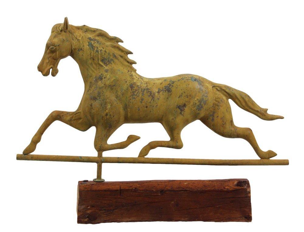 "RUNNING HORSE WEATHERVANE - Full Body ""Joe Patchen"""