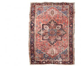 "Heriz Carpet - 8'2"" X 10'7"" - Northwest Persia, Second"