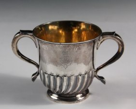 Loving Cup - English George I Period Sterling Silver