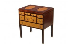 English Beau Brummel - Gentleman's Dressing Table In
