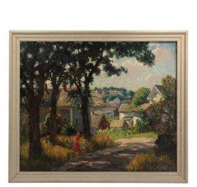 Thomas Curtin (vt/ma, 1899-1977) - Vinalhaven Summer