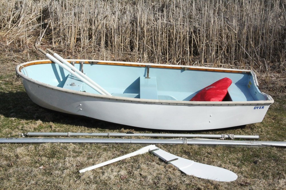 Dyer Auto Auction >> DYER DHOW SAILING DINGHY - 2001 9 foot Fiberglass Dyer
