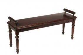 Contemporary Designer Bench - Continental Style Bench