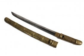 Japanese Short Sword - Late 19th C. Daisho Wakizashi,
