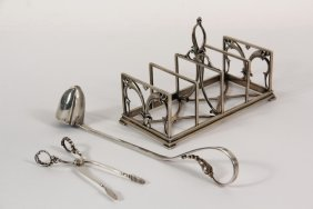 Silver Utensils - (3) Pcs Of Sterling Silver,