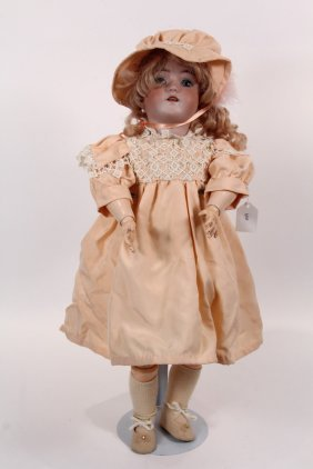 "26"" Simon Halbig Bisque Doll - Early 1900s Heinrick"
