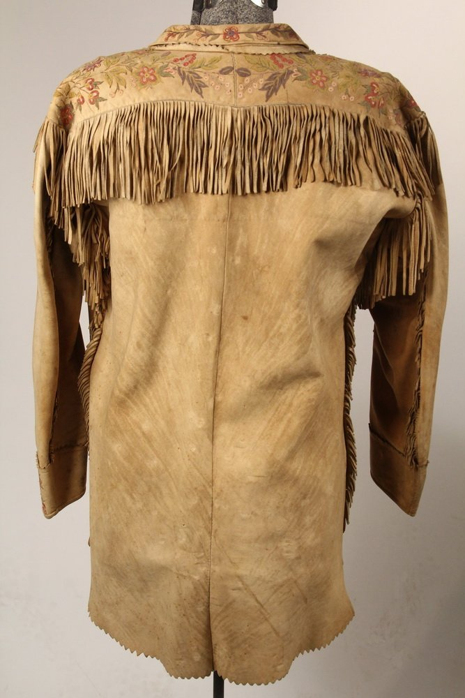 NATIVE AMERICAN CLOTHING - Fine Metis Cree Embroidered - 5