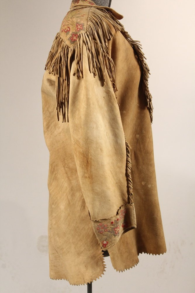 NATIVE AMERICAN CLOTHING - Fine Metis Cree Embroidered - 7
