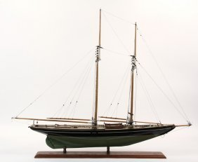 "Boat Model - Schooner ""bluenose"", The Queen Of The"