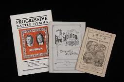 3 EARLY SONGBOOKS  California Songster 1868 full
