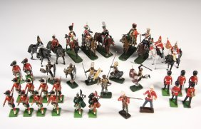Collection Of Toy Soldiers - Approx (80) Toy Soldiers,
