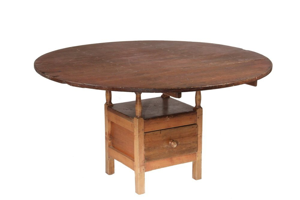 COLONIAL CHAIR TABLE - New England Pine and Maple Chair