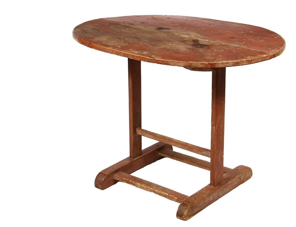 COUNTRY TAP TABLE - Lozenge Shaped Tavern Table, Maine