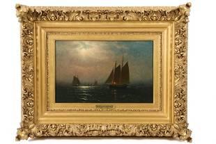 "CHARLES HENRY GIFFORD (MA, 1839-1904) - ""Nightfall Over"