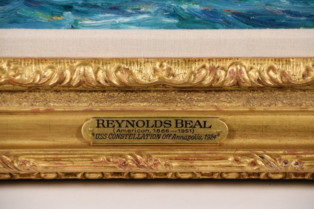 """REYNOLDS BEAL (MA/RI/NY, 1866-1951) - """"USS - 4"""