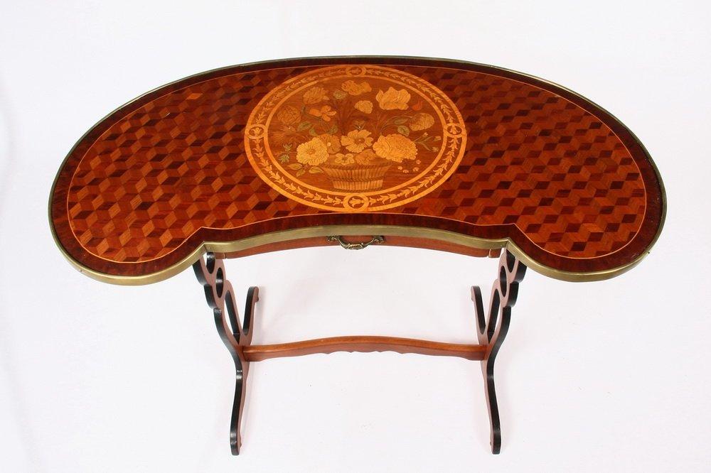 FRENCH LADY'S WRITING DESK - Petite table rognon de - 2