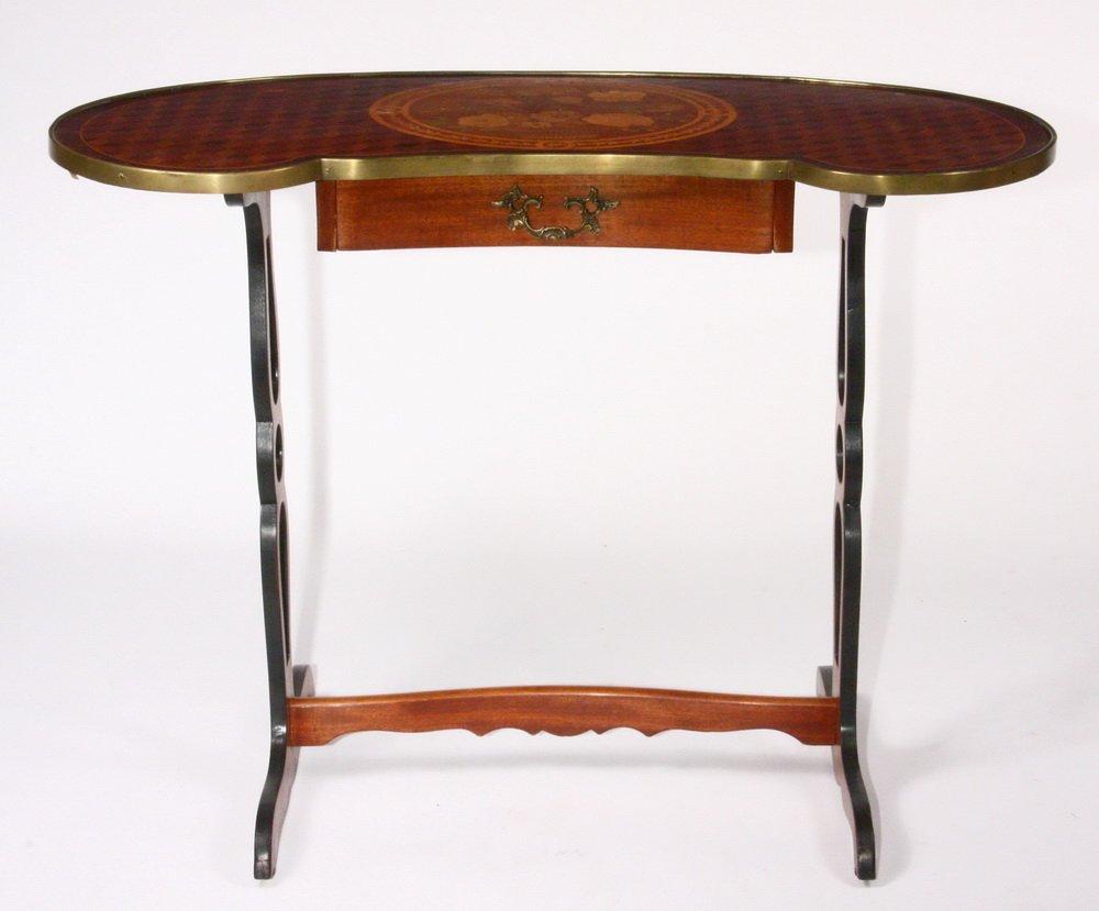FRENCH LADY'S WRITING DESK - Petite table rognon de - 4