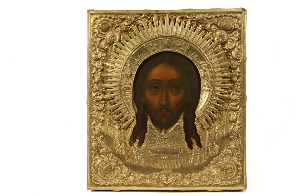 RUSSIAN ICON - Well-Painted Greek Orthodox Icon of the