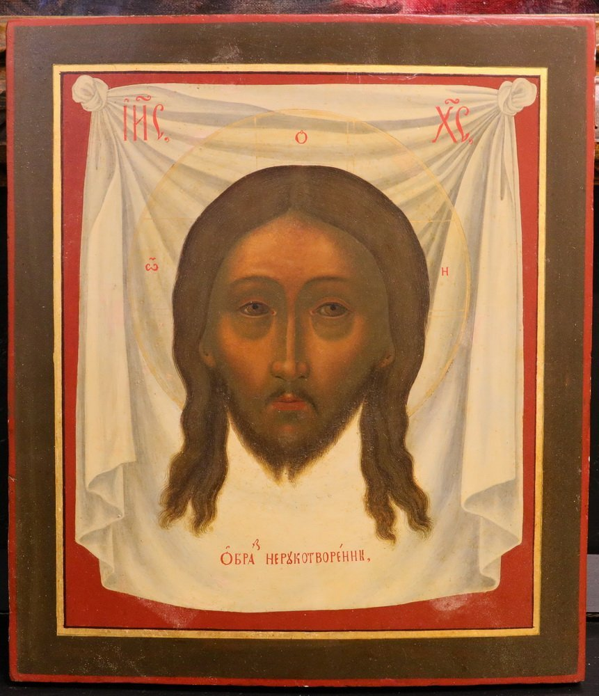 RUSSIAN ICON - Well-Painted Greek Orthodox Icon of the - 4