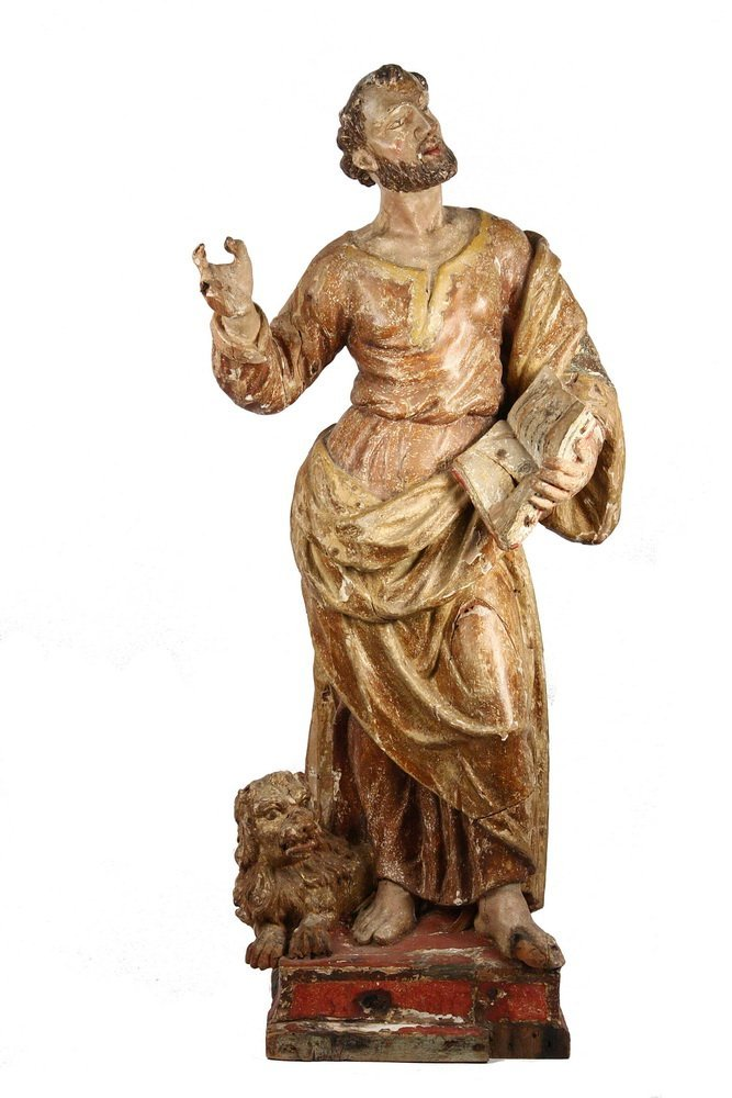 ITALIAN ECCLESIASTICAL CARVING - Large Carved Wood and