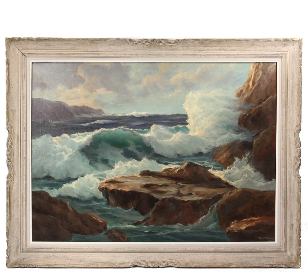 "WILLIAM COLUMBUS EHRIG (ME, 1892-1973) - ""Green Wave #2"