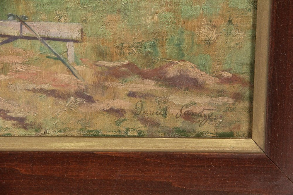 "DANIEL SANTRY (NH, 1858-1950) - ""View of Mt. Lafayette, - 3"