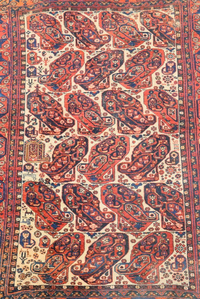 """NORTHWEST PERSIAN RUG - 4'5"""" x 6'2"""" - Early 20th c., - 2"""