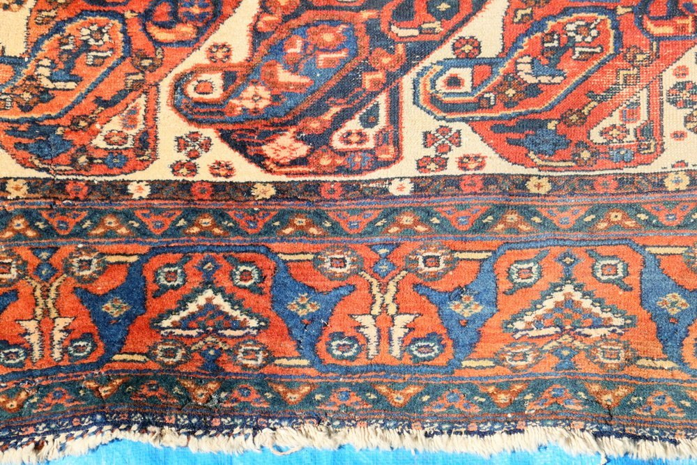 """NORTHWEST PERSIAN RUG - 4'5"""" x 6'2"""" - Early 20th c., - 3"""