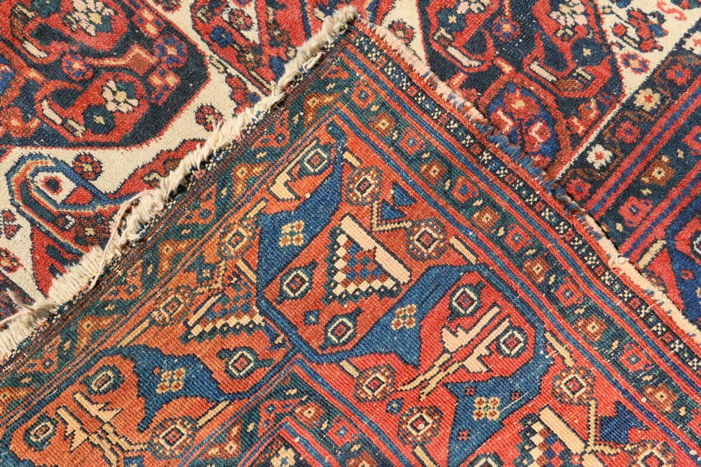"""NORTHWEST PERSIAN RUG - 4'5"""" x 6'2"""" - Early 20th c., - 4"""