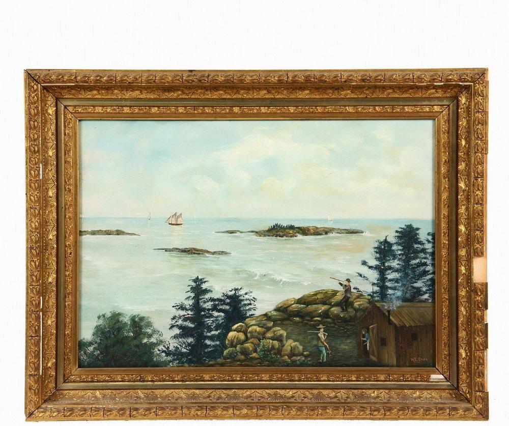 """NORRIS EDGAR CARD (ME, 1859-1897) - """"New Brunswick"""