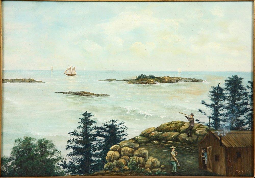 """NORRIS EDGAR CARD (ME, 1859-1897) - """"New Brunswick - 2"""