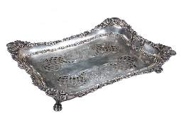 SILVER TRAY & LINER - Tiffany & Co Sterling Silver
